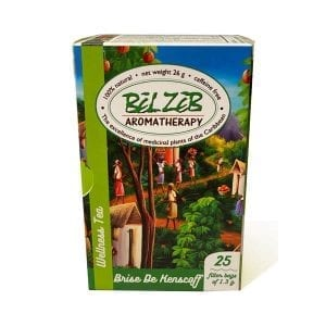 A bot of Belzeb aromatherapy Tea
