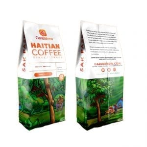 caribbrew Haitian dark roasted coffee