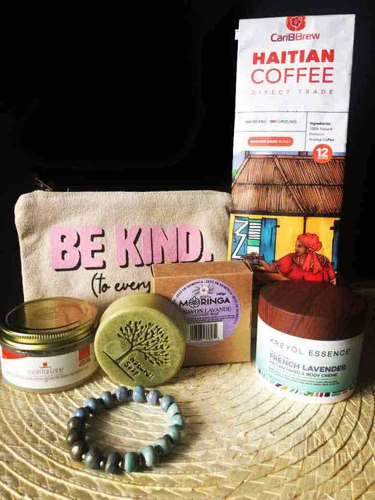 Set of Made in Haiti products